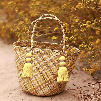 Coco Palm Straw Bag