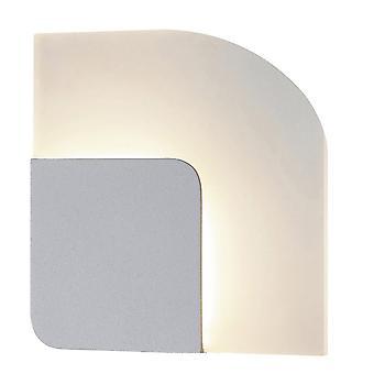 Moderne LED-wandlamp wit, warm wit 3000K 252lm
