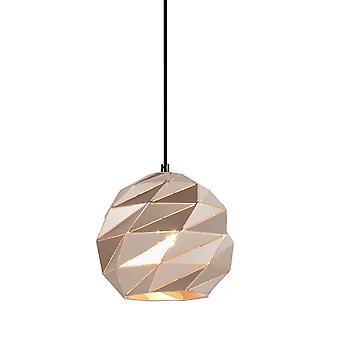 Italux Palermo - Colgante moderno colgante oro 1 luz , E27