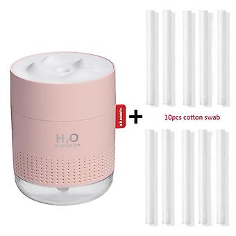 Hvid Sne bjerg luftfugter, ultralyd Usb Aroma Air Diffuser