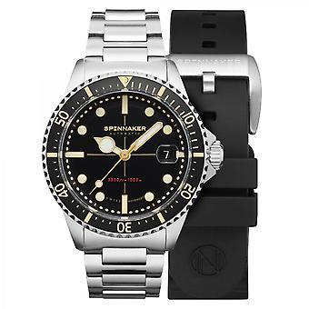 SPINNAKER TESEI METRI - EBONY BLACK SP-5090-11 - Men's Watch