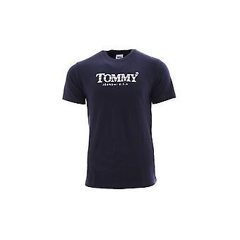 Tommy Hilfiger DM0DM08797C87 t-shirt universel pour hommes d'été