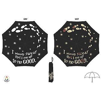 Harry Potter Marauders Map Umbrella