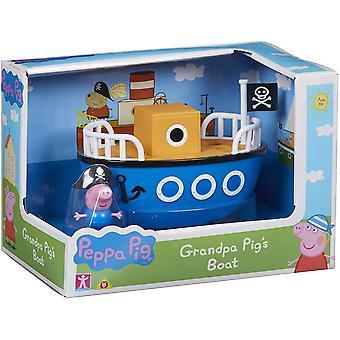 Peppa Pig Bedstefar Gris's Båd Playset
