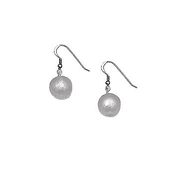 Recycled Bomb Ball Earrings
