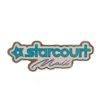 Stranger Things Starcourt Mall Enamel Badge