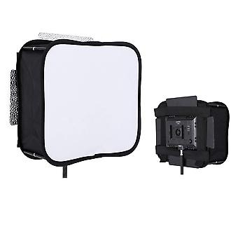 Diffusore Softbox per yongnuo yn300 iii ii pannello luminoso video led filtro morbido portatile pieghevole - sb30