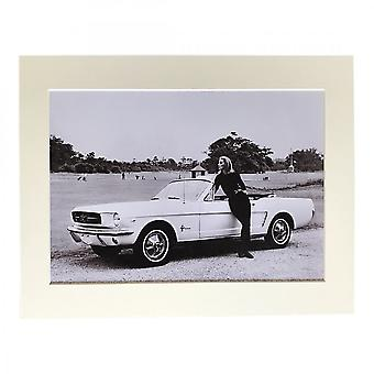 Larrini Goldfinger Mustang A4 Mounted Photo