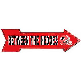 Georgia Bulldogs NCAA Entre el signo de flecha de coberturas