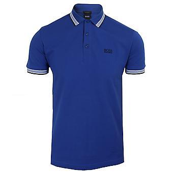 Hugo boss men's blue paddy polo shirt