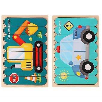 Lemn față-verso, puzzle 3d, Povestiri spune jucărie