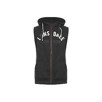 Lonsdale Box Sleeveless Mens Hooded Top