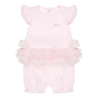 Ghici baby girls roz scurt romper s1rg12ka6wo g6a5
