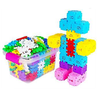 Diy Baby головоломка Большое число площади Строительство Блок-Апос;s