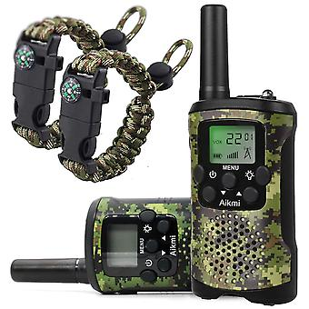 Aikmi walkie talkies for kids 8 channel 3 km long range ingenious communication gadget preventing my wof70761