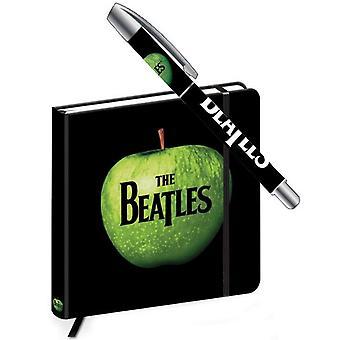 עט הביטלס ומחברת אפל הלהקה לוגו חדש רשמי מתנה סט
