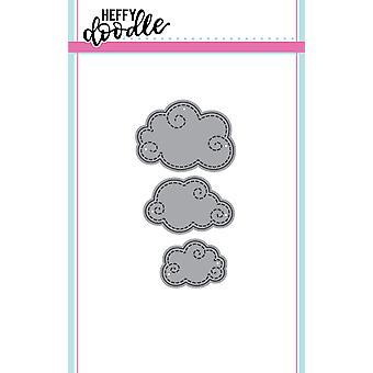 Heffy Doodle Swirly Clouds Meurt
