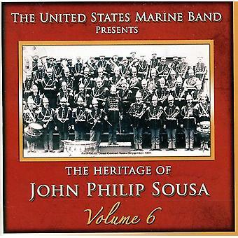 U.S. Marine Band - Heritage of John Philip Sousa, Vol. 6 [CD] USA import