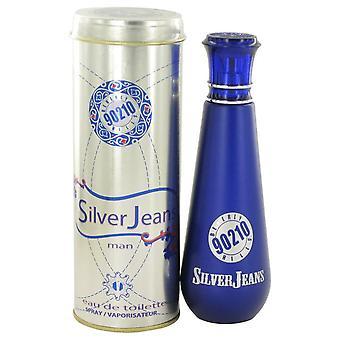 90210 Silver jeans eau de toilette spray by torand 456589 100 ml