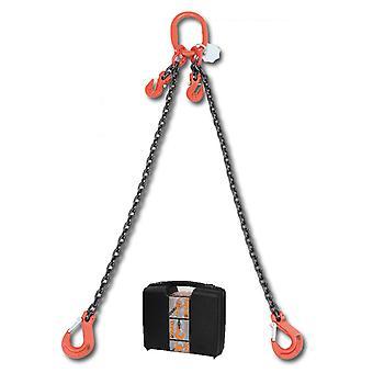 Beta-080970041 Chain Sling 2 Beine und greifen Haken In Kunststoff Fall 8mm 1 Mt