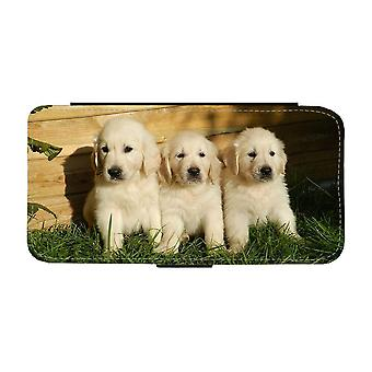 Golden Retriever Puppies Samsung Galaxy A52 5G Wallet Case