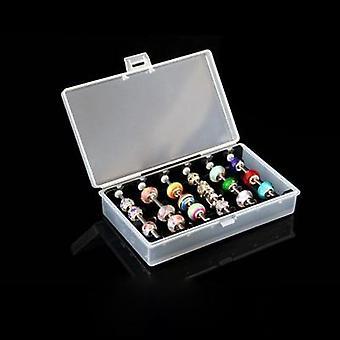 Acrylic Pandora Box Charm Beads Bracelet Ring Holder Storage Case Rack