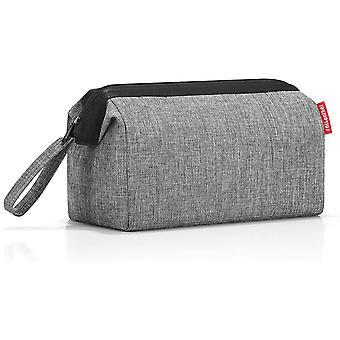 Gerui travelcosmetic Twist Silver Toiletry Bag 26 Centimeters 4 Grey (Twist Silver)