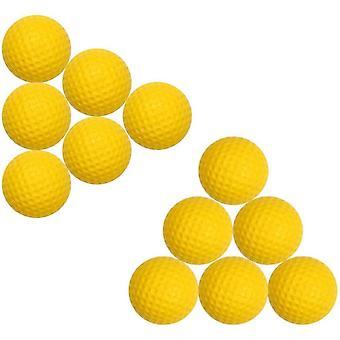 FengChun 12pcs Golfblle aus PU-Schaumstoff, weiche elastische Indoor Outdoor Praxis Golfblle, weiche Blle