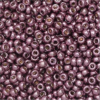 ميوكي جولة حبات البذور، 11/0، 8.5 غرام أنبوب، #4220 الباذنجان المجلفن