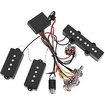 FengChun Bass Verdrahtung Pickup, E Bass Preamp Verdrahtungsschaltung Pickup und verstärkter Line