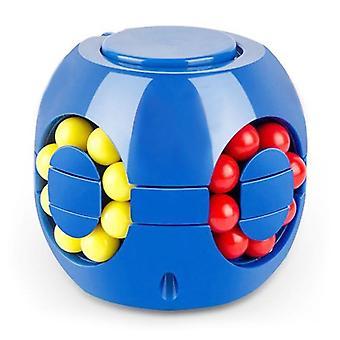 Cubo Mágico Pequeno Feijão Mágico Cubo Rotativo Crianças Estresse Brinquedo de Alívio.
