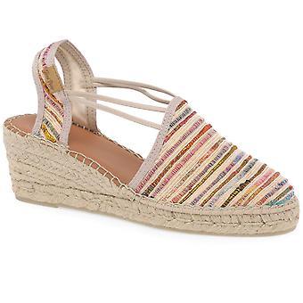 Toni Pons Tania Womens Wedge Heel Espadrille Sandals