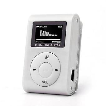 Mini Usb Outdoor Sport Mp3 Music Player Clip Mp3 Player Lcd Screen Support 32gb