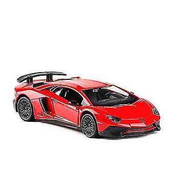 سيارة سبيكة حمراء نموذج لعبة سيارة للفتيات kidsboys هدية x554