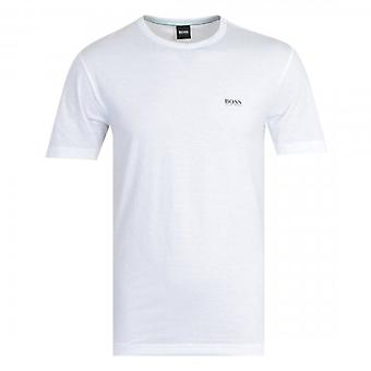 Boss Green Hugo Boss Tee Shoulder Logo T-Shirt White 107 50245195
