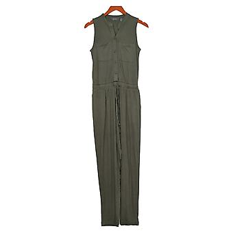 Lisa Rinna Collection Jumpsuits Ankle Length One-Piece Green A354090