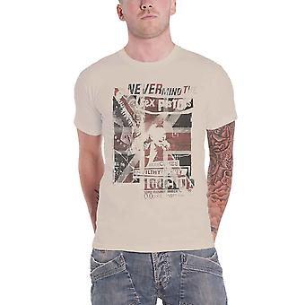 The Sex Pistols T Shirt Live Filthy Lucre 100 Club new Official Mens Natural
