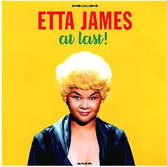 Etta James – Äntligen! Gul vinyl