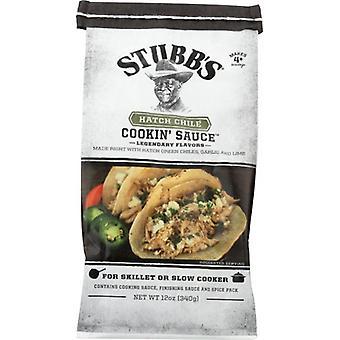 Stubbs Sauce Hatch Chile, Case of 6 X 12 Oz