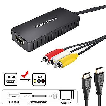Fuerte adaptador de compatibilidad para av convertidor mini portátil pc accesorios hd usb cable pal ntsc reproductor de DVD audio de vídeo