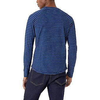 Märke - Goodthreads Herr Långärmad Indigo Raglan T-Shirt
