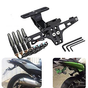 Soporte de montaje de la placa trasera de la motocicleta