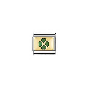 Nominering italien composable länk grön fyra bladklöver hjärta 030206_27