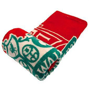 Liverpool FC Fleece YNWA Blanket