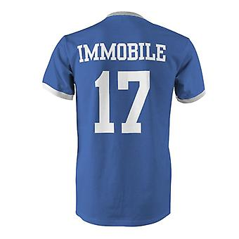 Ciro Immobile 17 Italien land Ringer T-Shirt