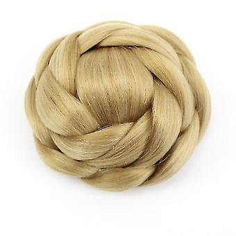 Synthetic Chignon Hair Bun Wig For Women Heat Resistant Hairpiece
