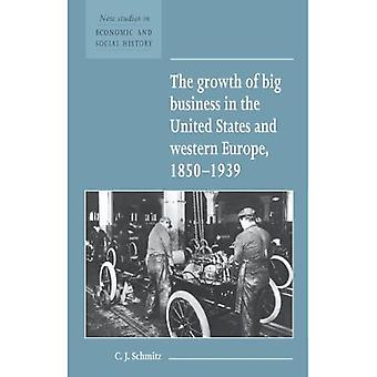 The Growth of Big Business in the United States and Western Europe, 1850-1939 (New Studies in Economic & Social History) (New Studies in Economic and Social History)