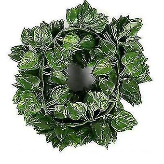 2m Sztuczny Pnącz Rattan, Bluszcz Dekoracja Vine, Dekoracja ślubna (Zielona Rzodkiewka)