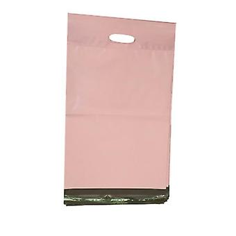 Pe Light Pink Envelope, Postal Opaque Courier Mailing Packing Bags