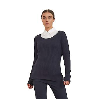 Shuuk Scoop-Neck Cable-Knit Sweater